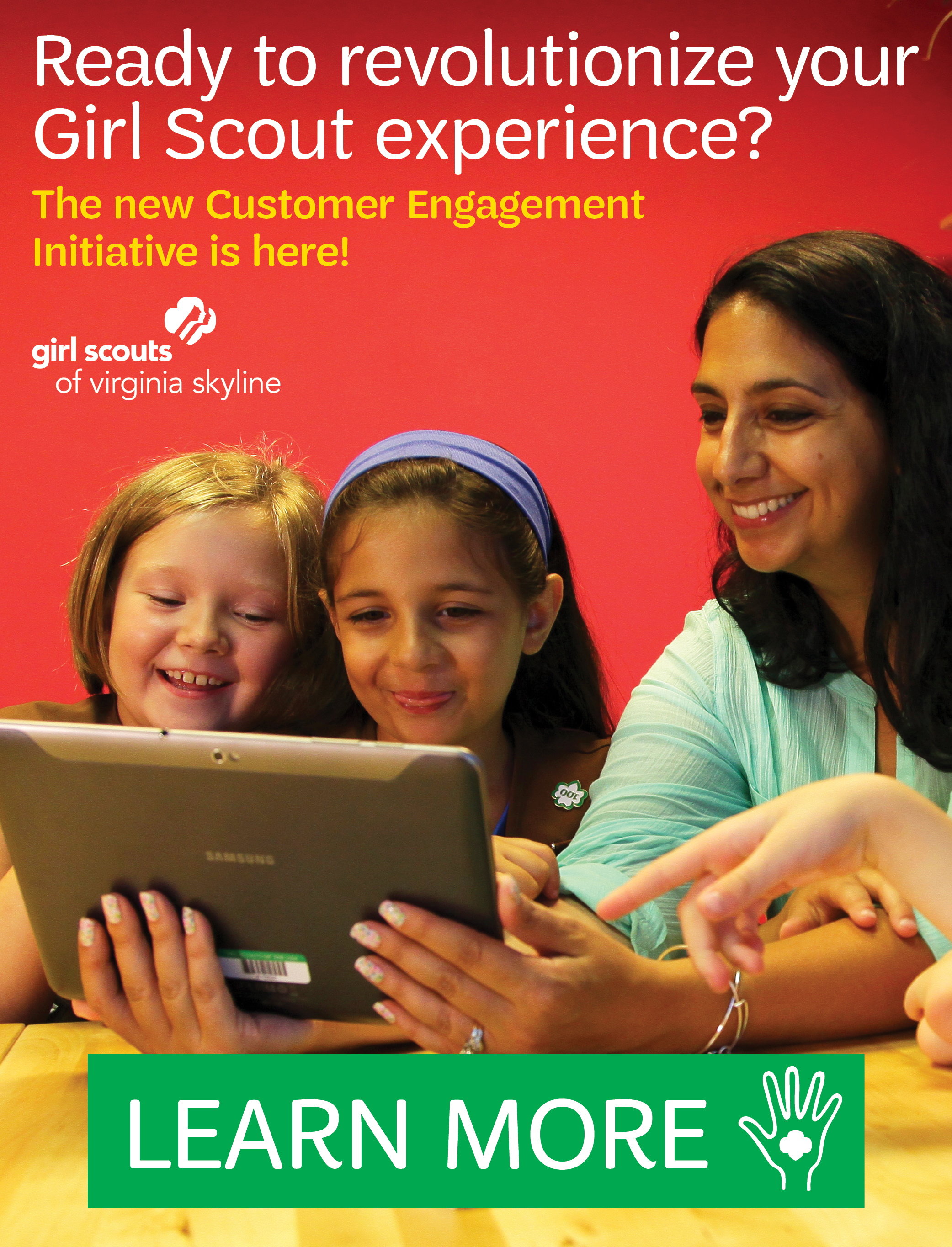 The Customer Engagement Initiative is here!