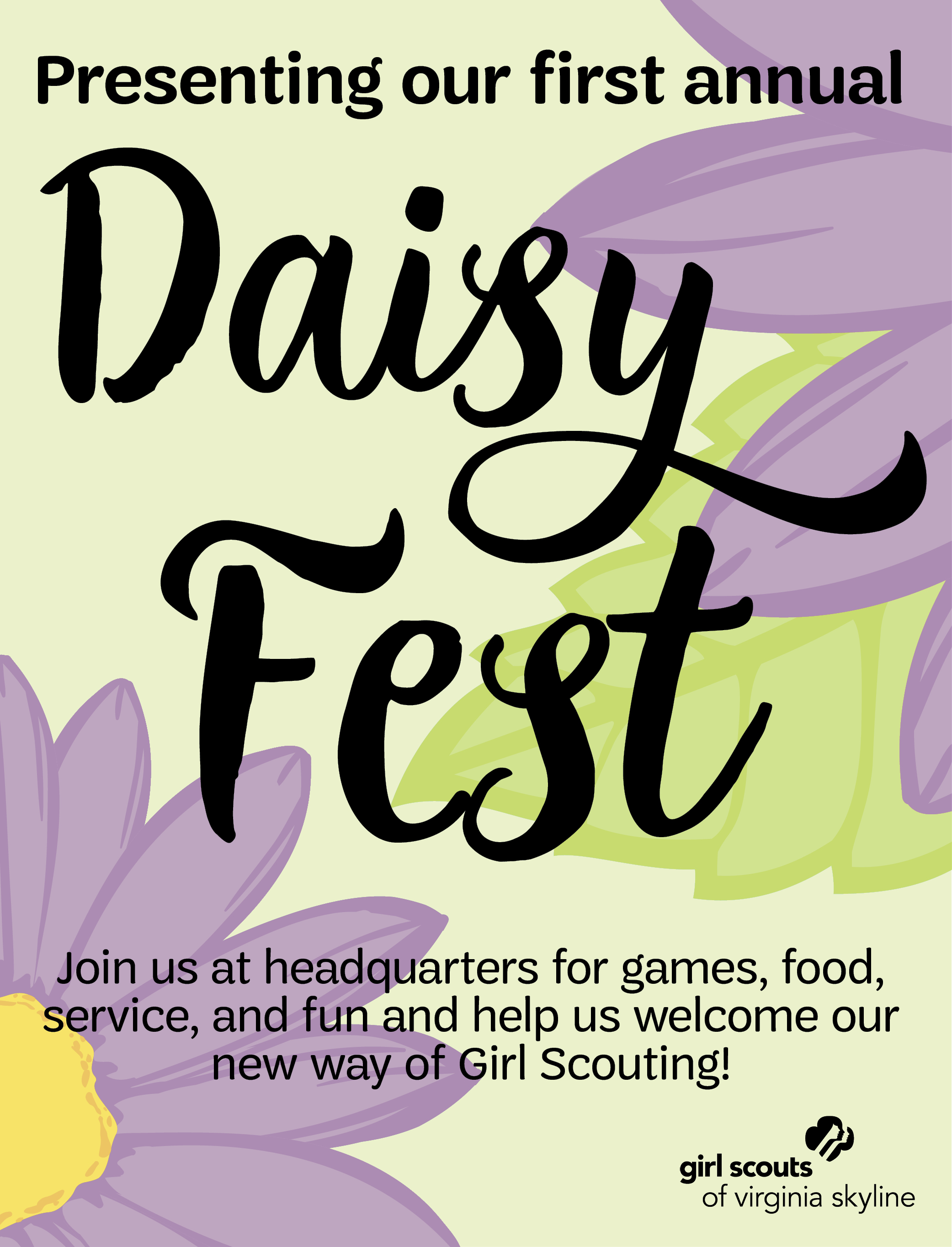 Girl Scouts of Virginia Skyline presents Daisy Fest 2017!