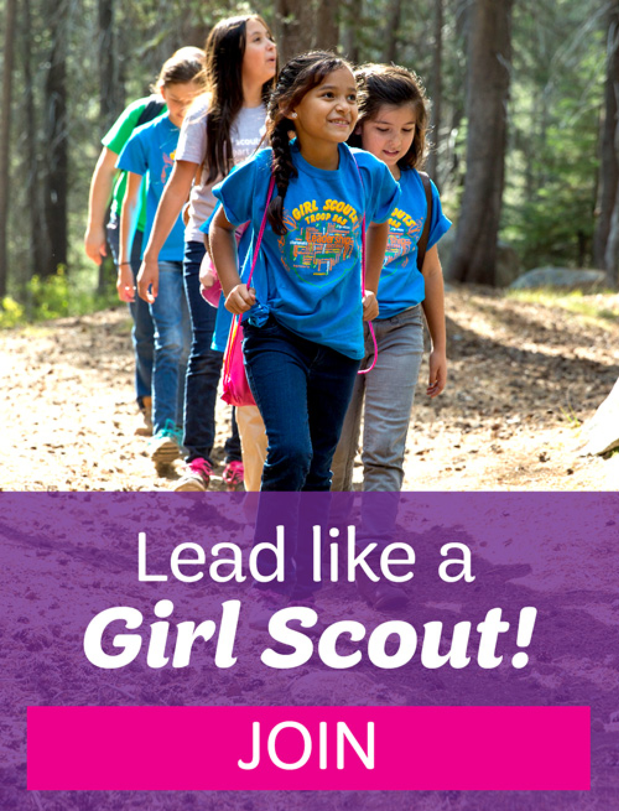 Lead Like a Girl Scout! JOIN