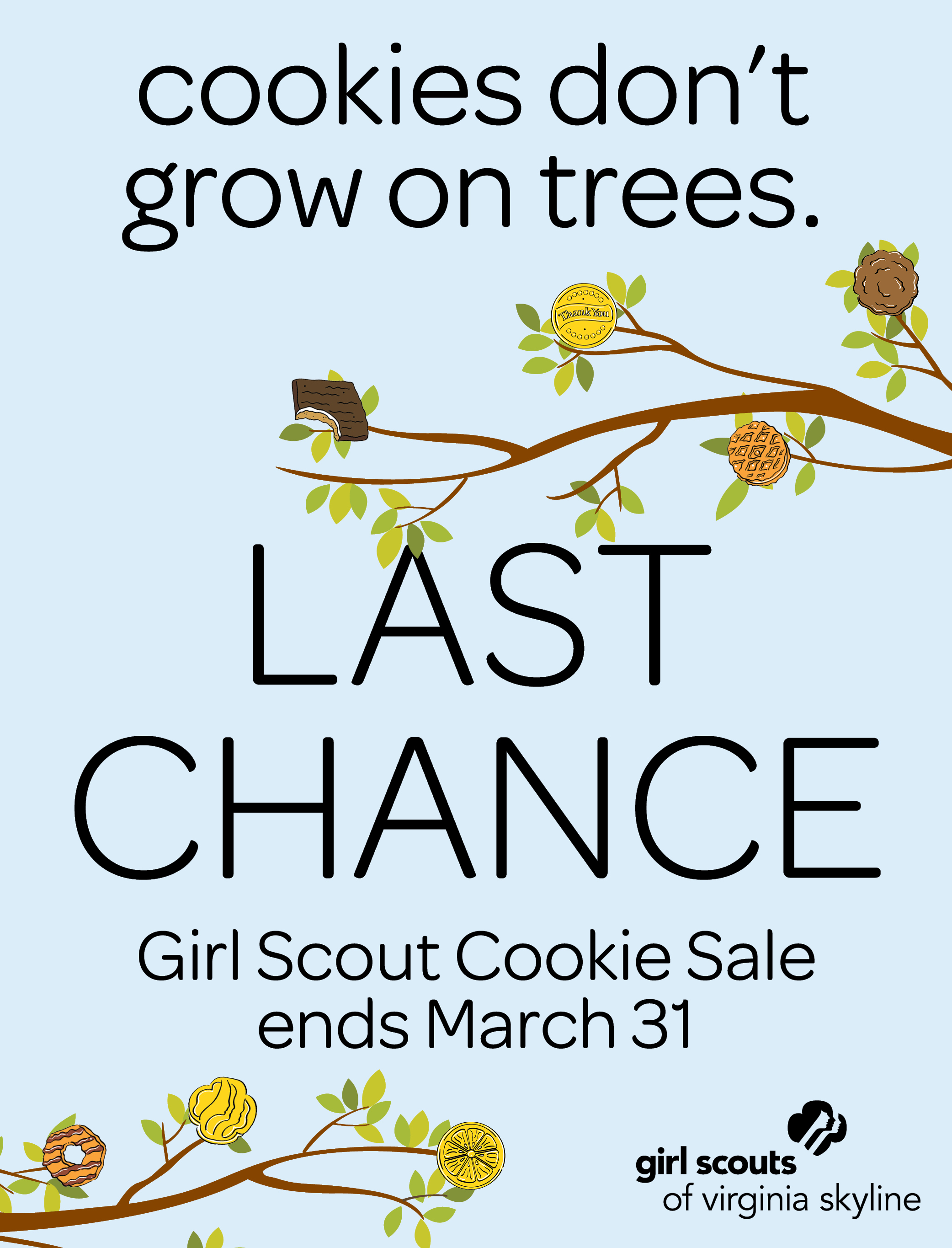 Last Chance for Cookies!