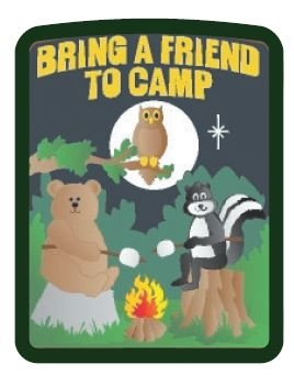 Bring a Friend to Camp Patch